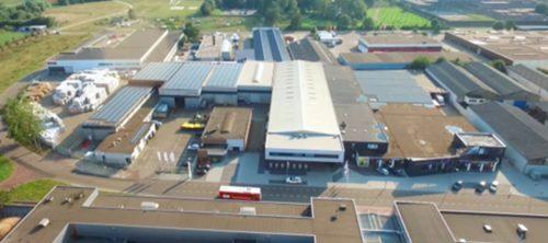 DS Metaal Maastricht vanuit de lucht