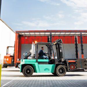 DS Metaal Logistics Heftruck 6ton