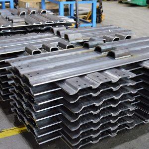 Steelbelt plates